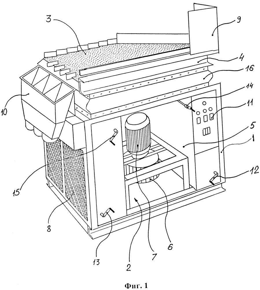 Пневматический сортировочный стол