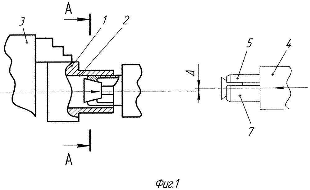 Способ переустановки тонкостенной заготовки в механизированный патрон