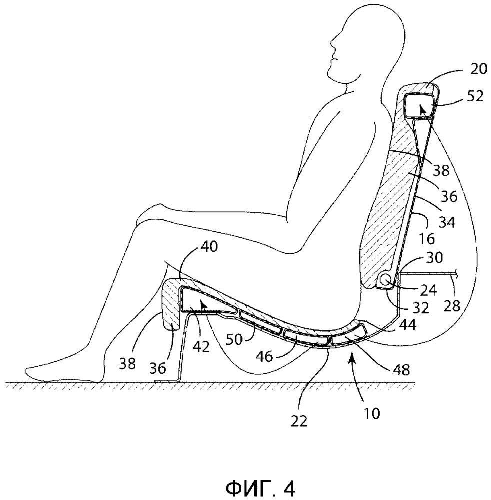 Посадочный узел транспортного средства (варианты) и сиденье транспортного средства