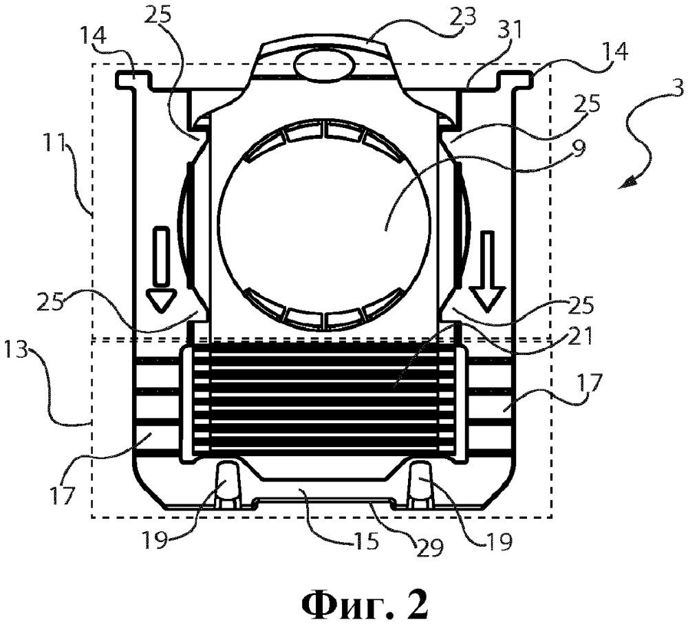 Соединительная пластина пылесборника для пылесоса