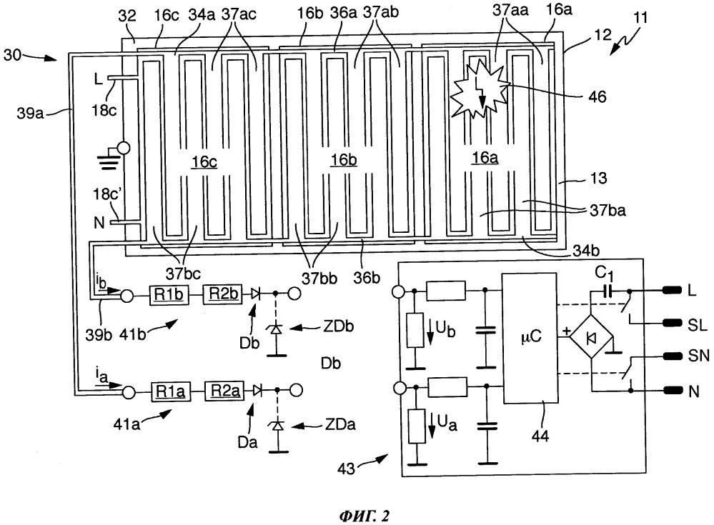 Нагревательное устройство для нагрева текучих сред и способ управления таким устройством