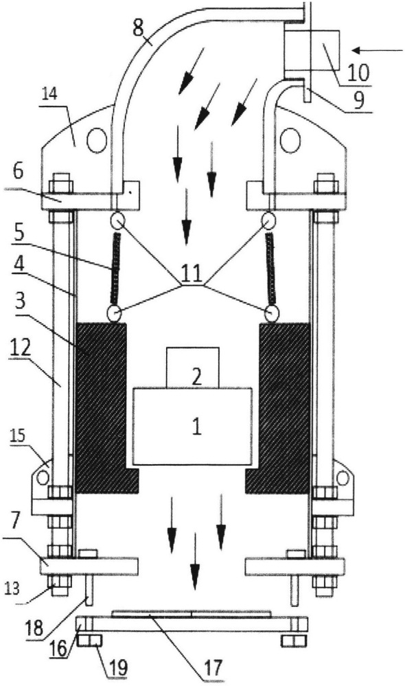 Прибор для измерения ровности дорожных и аэродромных покрытий