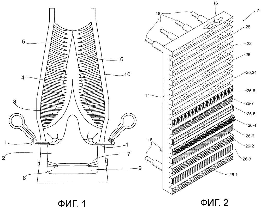 Износостойкий композитный материал, его применение в охлаждающих элементах для металлургической печи и способ его получения
