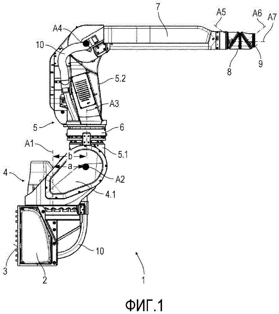 Робот нанесения покрытия