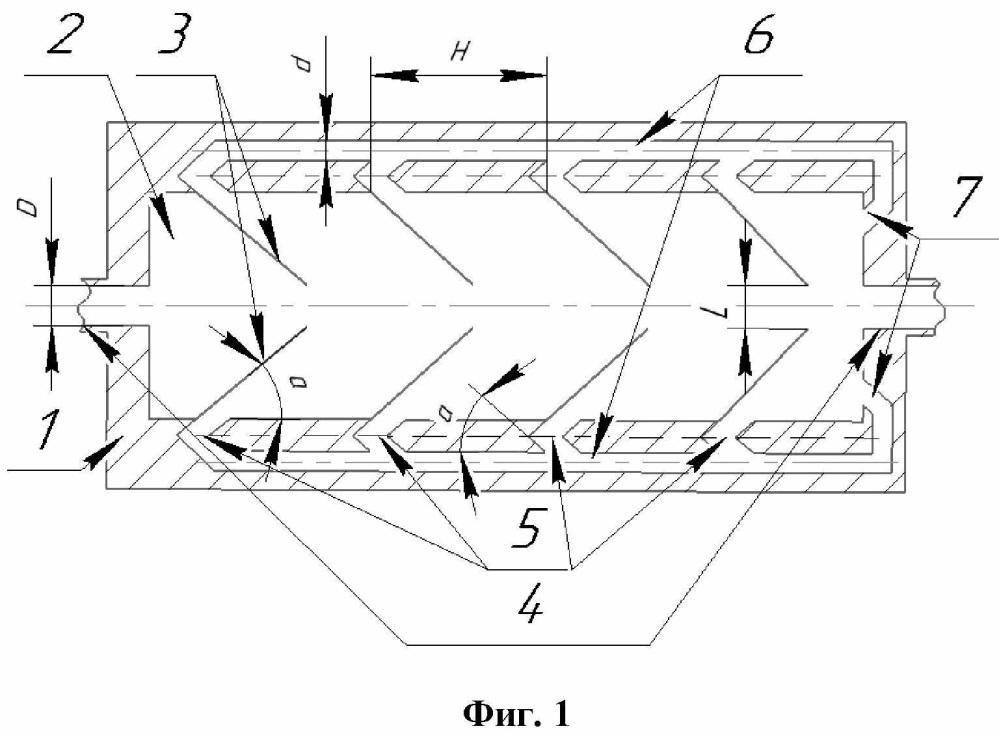 Гидропневматический диод с закольцованным движением рабочей среды