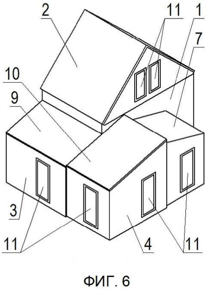 Модульный конвертируемый жилой дом