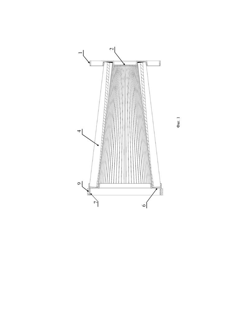 Бескаркасный канальный фильтр