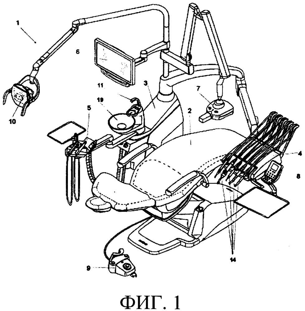 Противозастойное устройство для зубоврачебной установки
