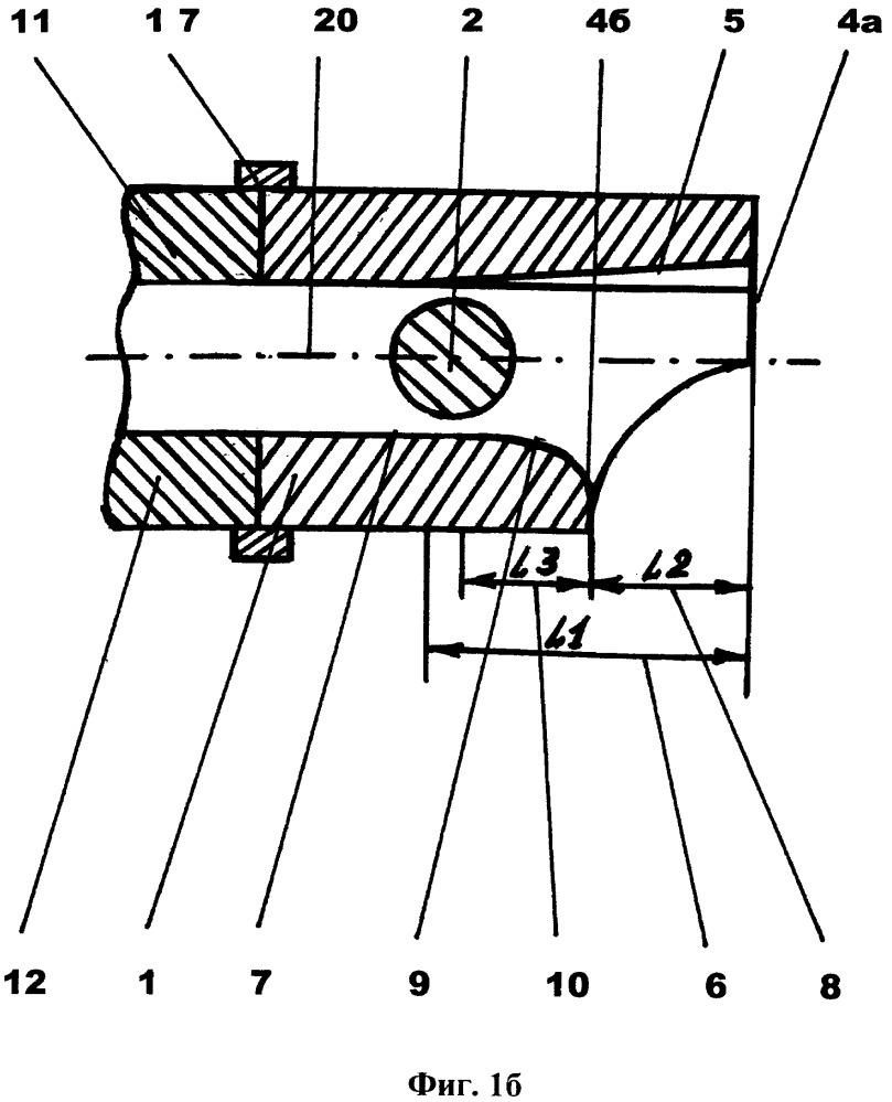 Устройство двойной баллистики для ствола съемное