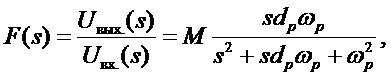 Полосовой фильтр второго порядка с независимой подстройкой основных параметров