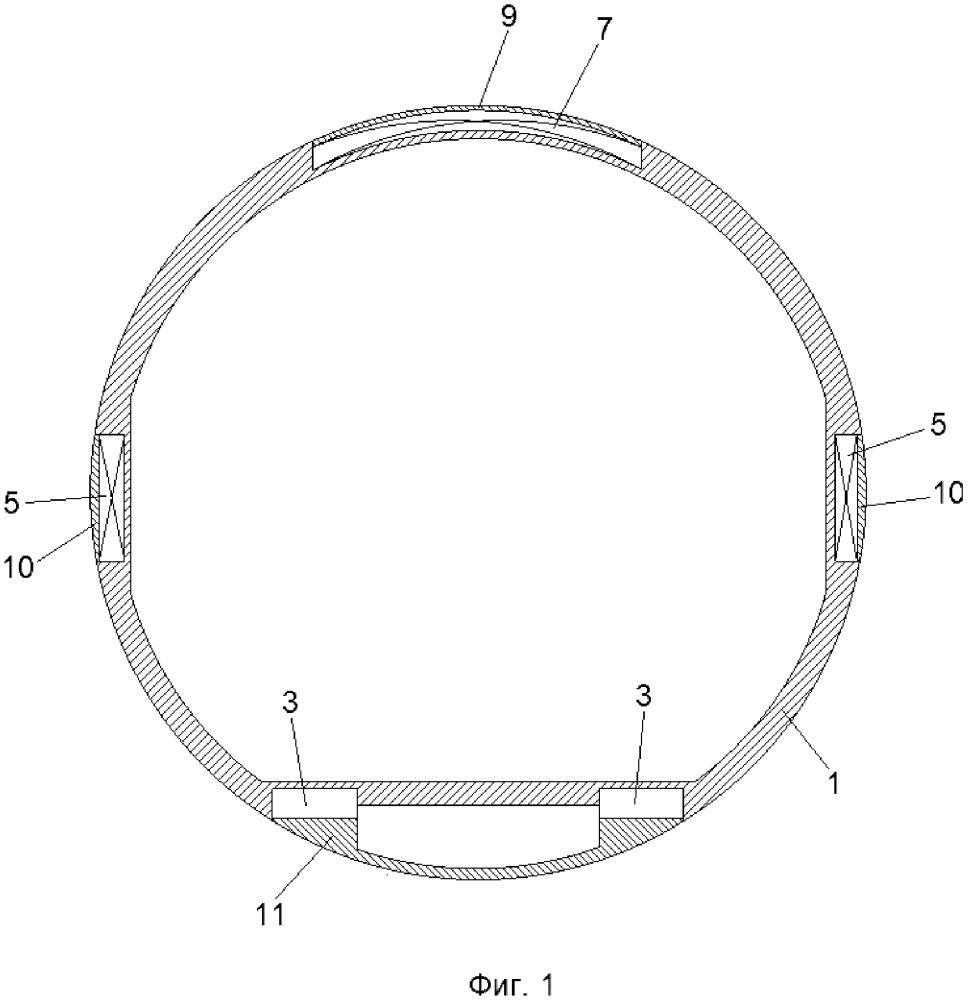Магнитолевитационный транспортный трубопровод