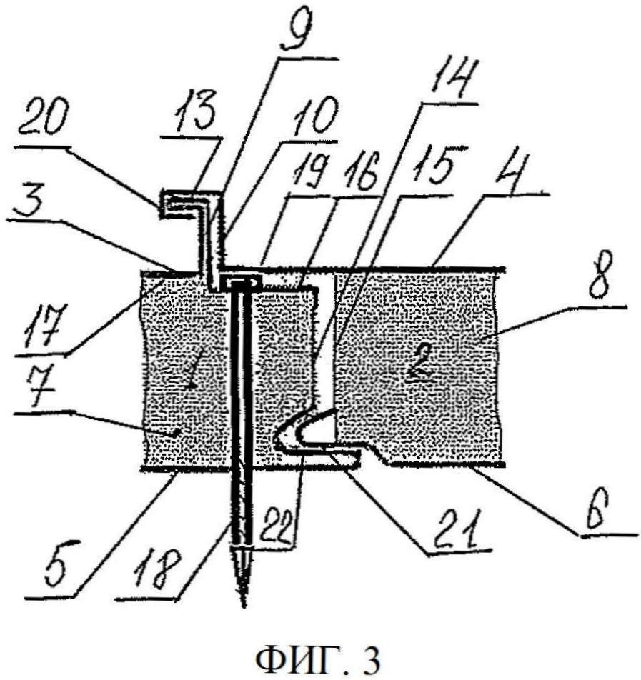 Соединение строительных панелей типа сэндвич