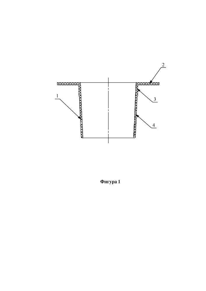 Уплотнительный колпачок для герметизации стыков отверстий вакуумно-пленочной литейной формы при производстве отливок из сплавов