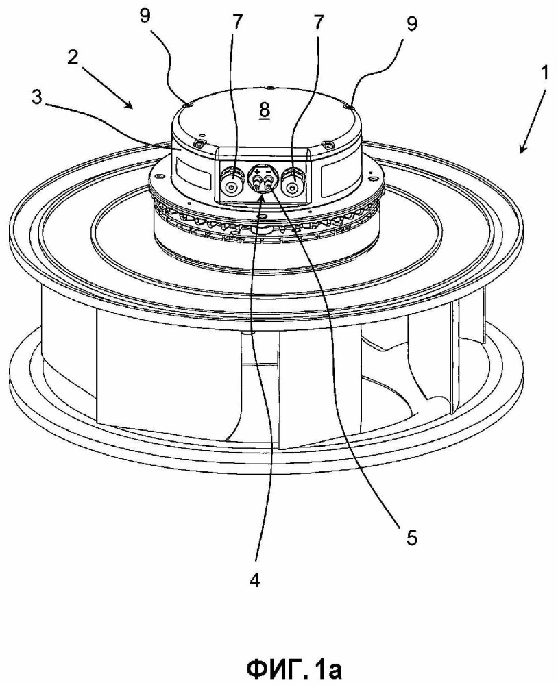 Двигатель для воздуходувок, соответственно вентиляторов, наносов или компрессоров, способ эксплуатации такого двигателя и вентиляторная система, имеющая один или несколько двигателей/вентиляторов