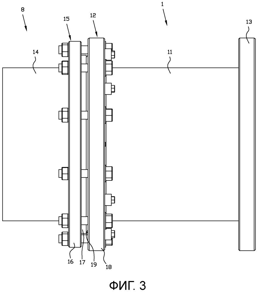 Трубный соединитель и трубный соединительный узел