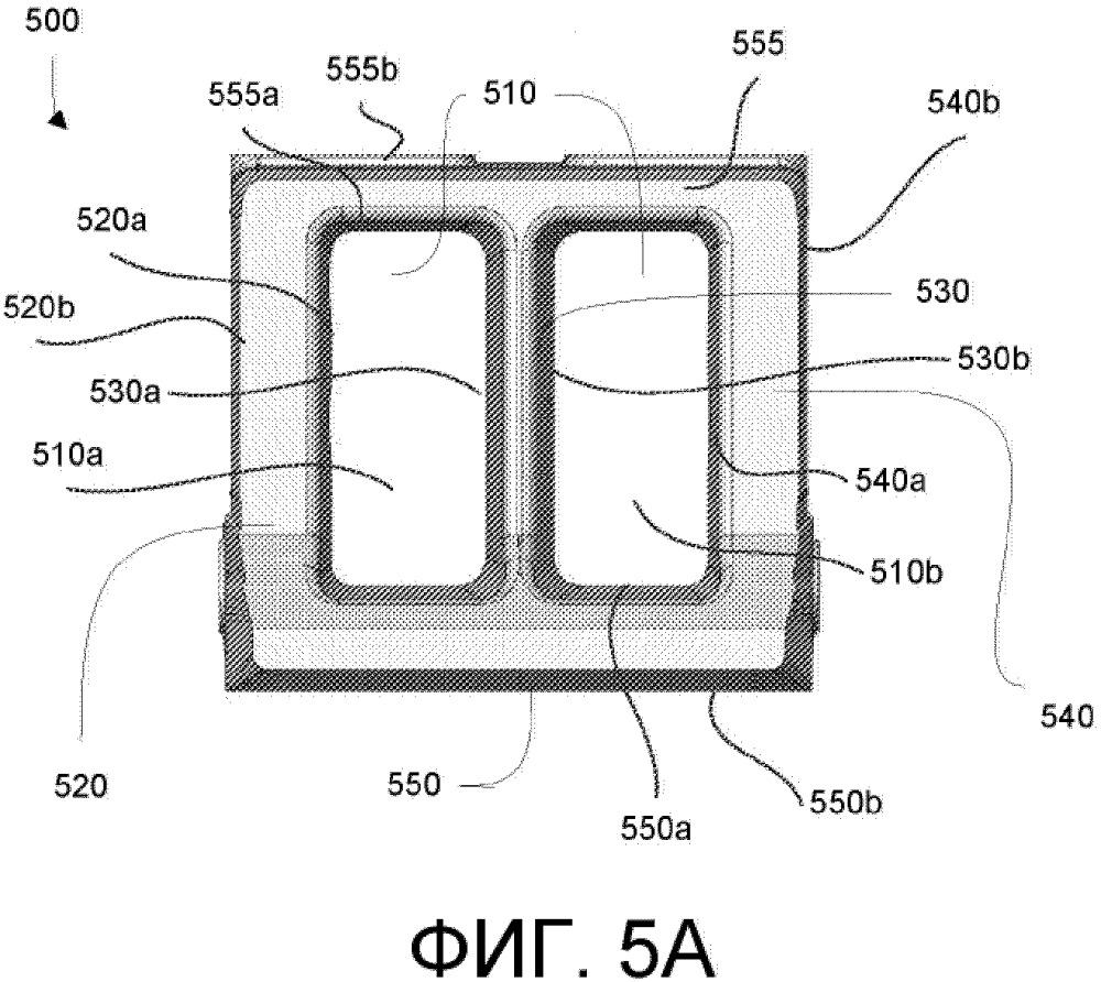 Конструкция центрального стержня боковой рамы и соответствующий способ