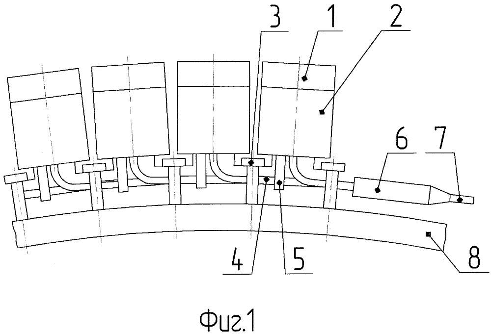 Гибкий приемный модуль гидроакустической антенны