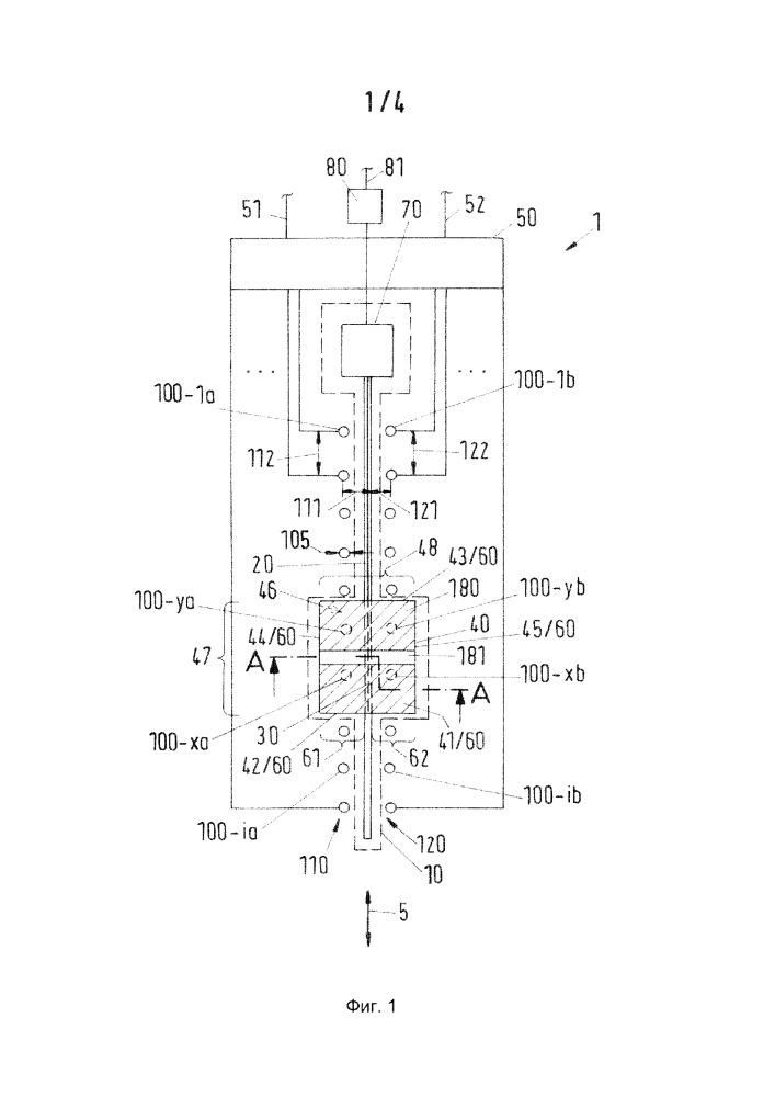 Управляющее устройство с подсвечиваемым исполнительным элементом регулятора уровня сигнала