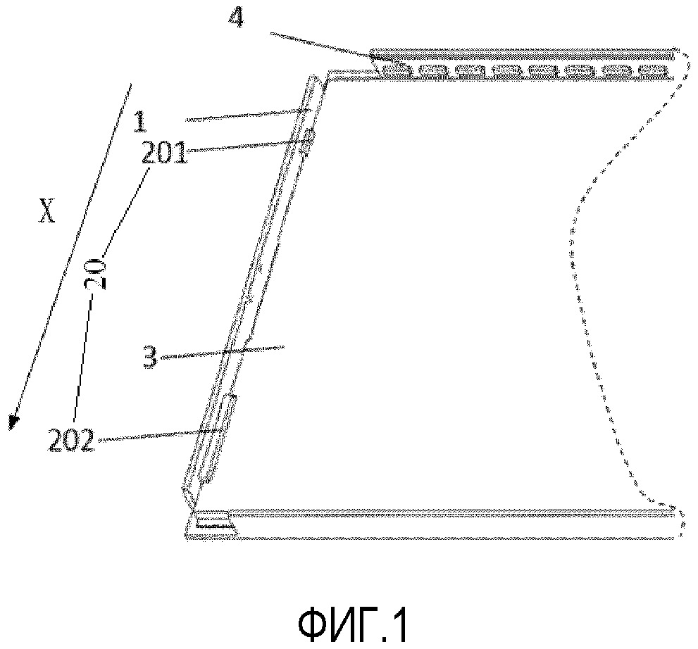 Конструкция для установки в заданное положение световодной пластины, модуль задней подсветки и устройство отображения