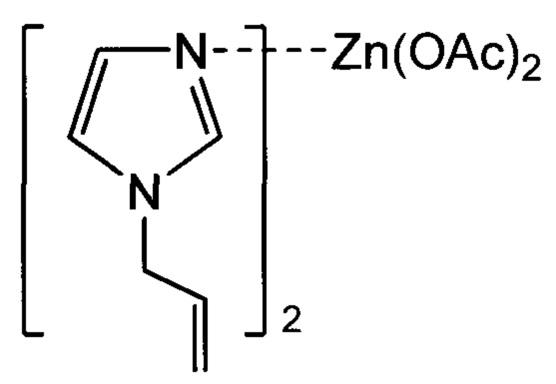 Комплексные соединения цинка с n-аллилимидазолом как ранозаживляющие средства