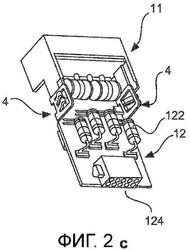 Модуль для защиты от перенапряжений для модульного штекерного соединителя