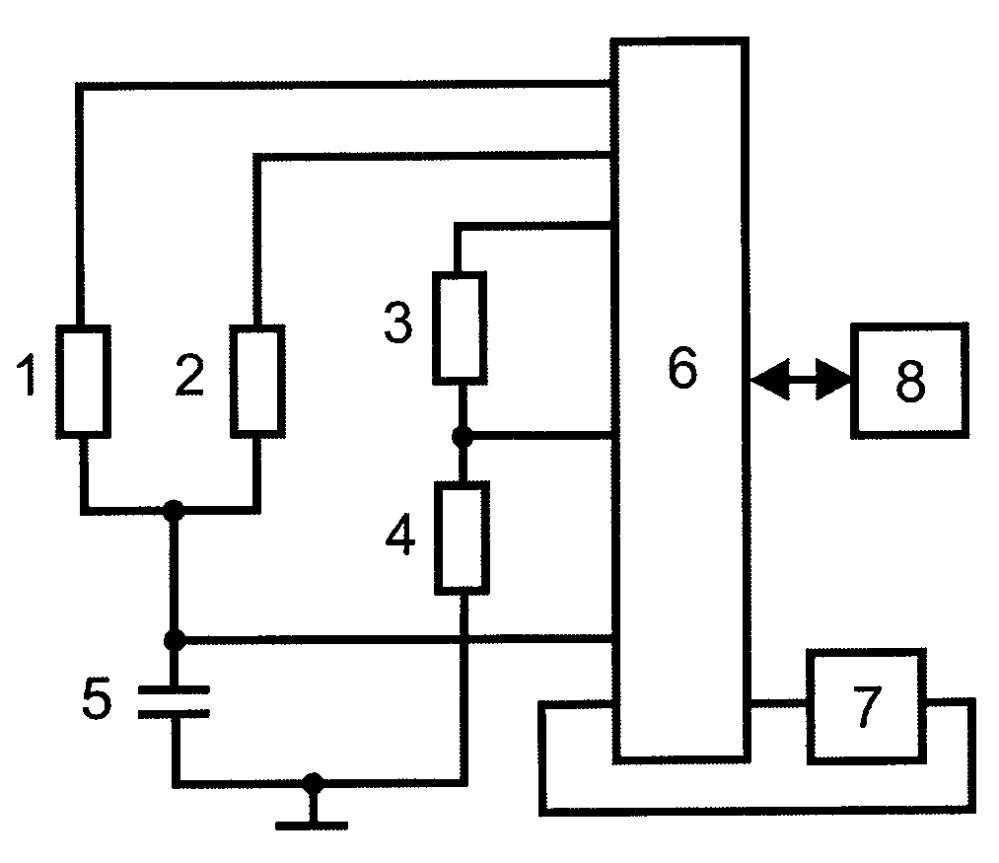 Микроконтроллерное устройство измерения емкости для систем контроля и управления