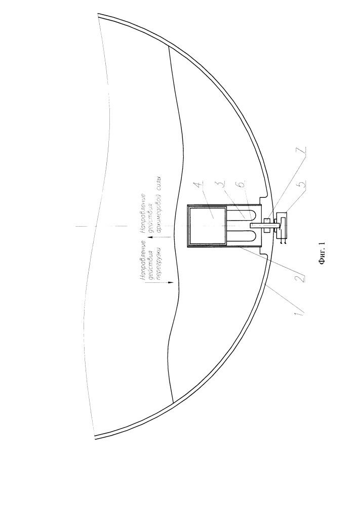 Устройство подачи сигнала на отделение стартовой ступени вертикально стартующего летательного аппарата