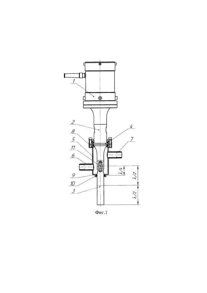Устройство для ультразвуковой обработки расплава легких сплавов