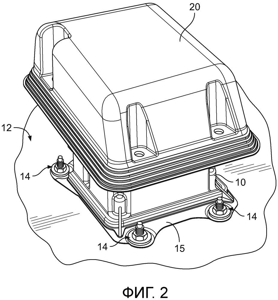 Защитная крышка для блока управления транспортного средства (варианты)