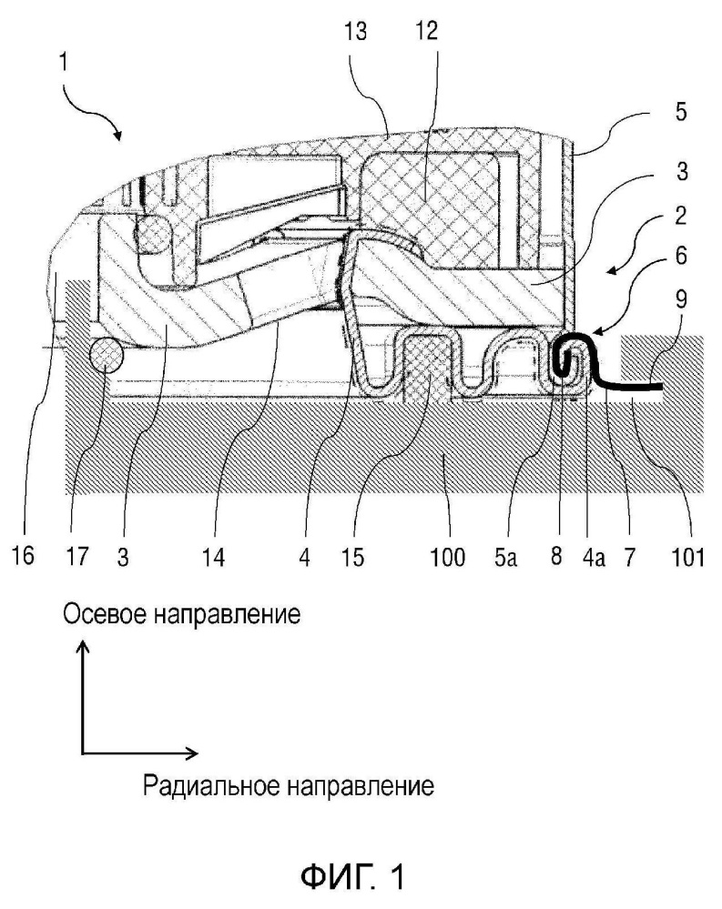 Устройство для разъемного крепления патрона осушителя к корпусу системы подготовки сжатого воздуха транспортного средства