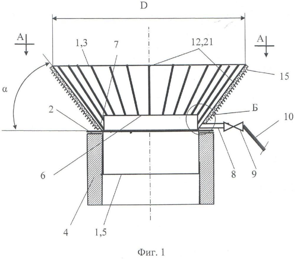 Комплексный термоэлектрический венец для дымовой трубы