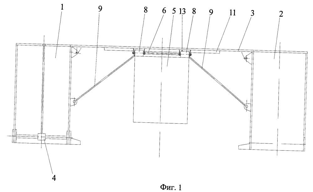 Мостовой блок пролетного строения