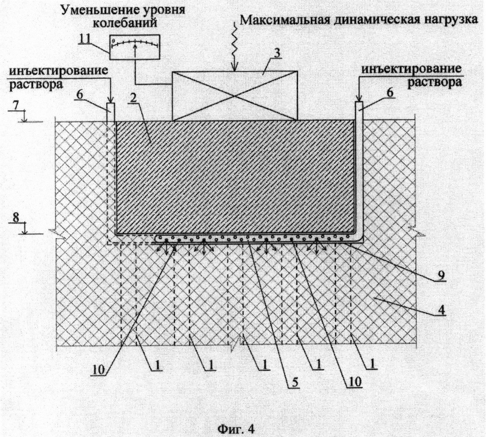 Способ устройства свайного фундамента под машины с динамическими нагрузками и виброчувствительное оборудование