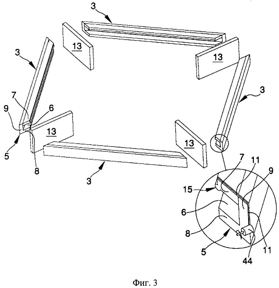 Способ и система для производства окон/дверей