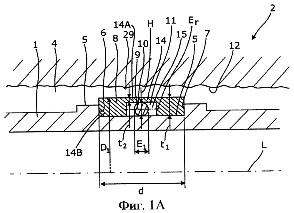 Скважинный разжимной металлический трубчатый элемент