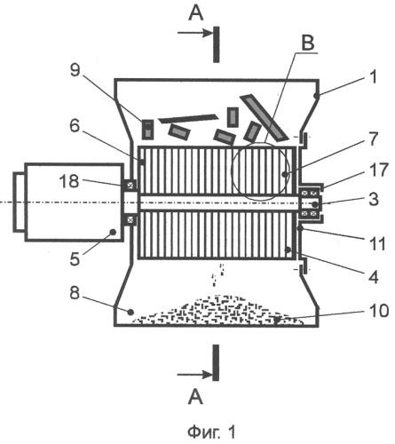 Измельчитель древесины устройство