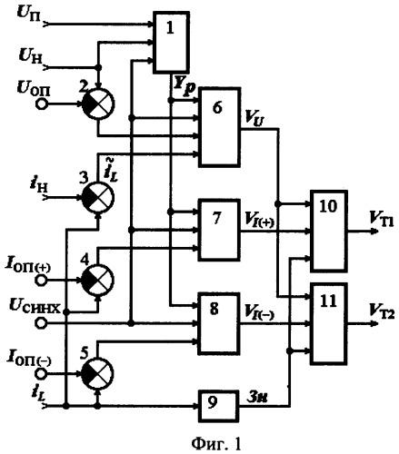 method of reversible pulse dc voltage converter control