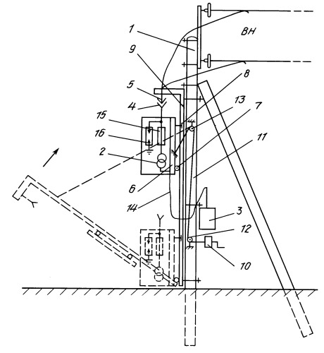 Pole Mounted Substation Diagram