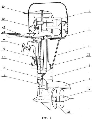 устройство лодочного мотора подвесного