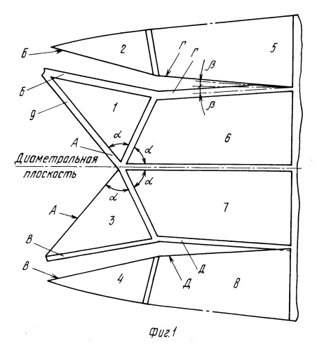 лодка из треугольников