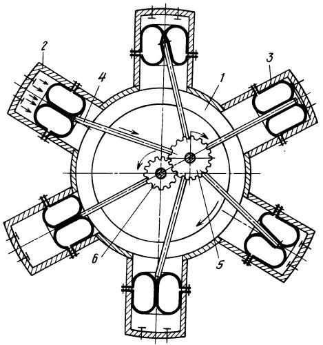 радиальный двигатель своими руками