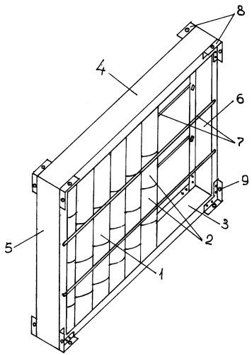Блок для строительства теплиц и парников