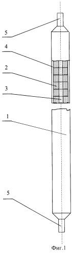 Стержневой тепловыделяющий элемент водоводяного энергетического реактора