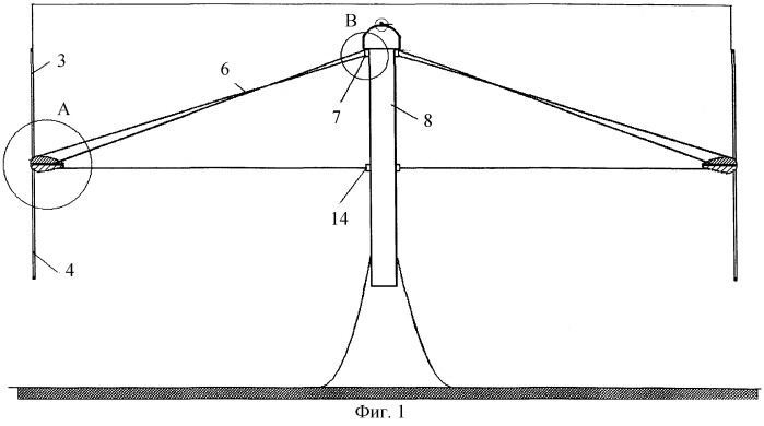Ветроэнергетическая установка с вертикальной осью вращения