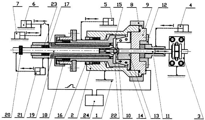 Устройство для герметизации контактно-стыковой сваркой трубчатых изделий