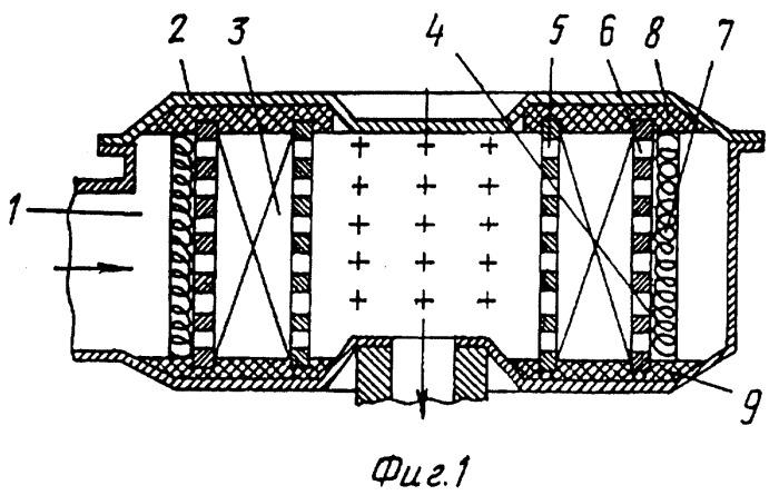 Фильтр для очистки воздуха в двигателях внутреннего сгорания