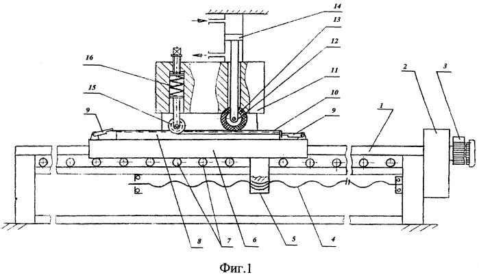 Стан локальной формовки для изготовления элементов панелей плоских теплообменников