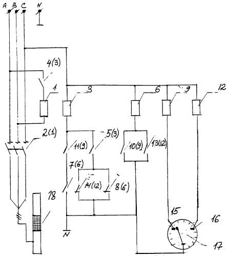 Схемы релейного управления водонапорными башнями