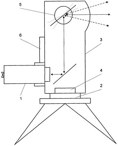 Оптическая система определения координат объекта