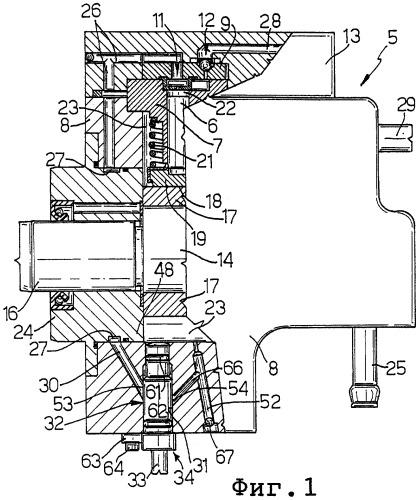 Насос высокого давления с заменяемым двухпозиционным клапаном для подачи топлива в двигатель внутреннего сгорания